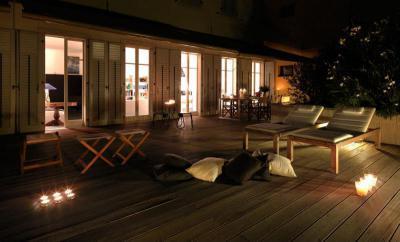 Este a teraszon - erkély / terasz ötlet, mediterrán stílusban