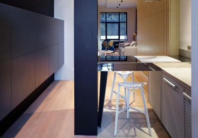 Kicsi konyha - konyha / étkező ötlet, modern stílusban