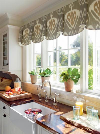 Fa konyhapult - konyha / étkező ötlet, klasszikus stílusban