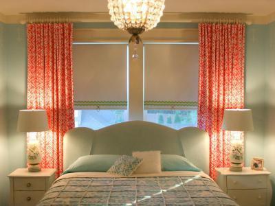 Vízkék fal-vízkék ágy - háló ötlet, klasszikus stílusban