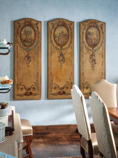 Csodaszép faldekor - konyha / étkező ötlet, mediterrán stílusban