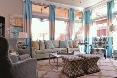 Pasztellszínű nappali - nappali ötlet