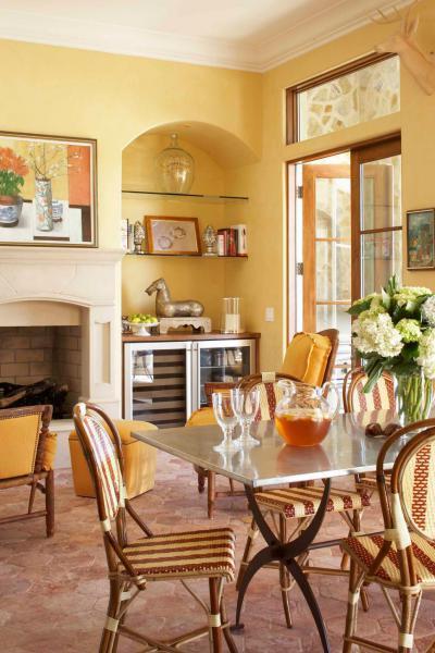 Mediterrán étkező - konyha / étkező ötlet, mediterrán stílusban