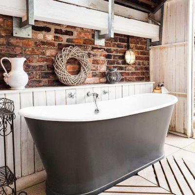 Rusztikus részletek - fürdő / WC ötlet