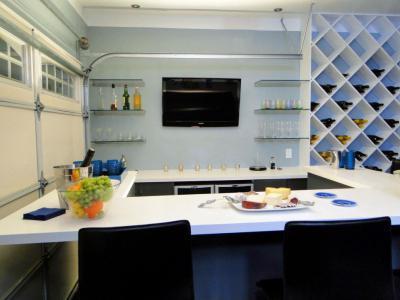 Egyedi konyha - konyha / étkező ötlet, modern stílusban