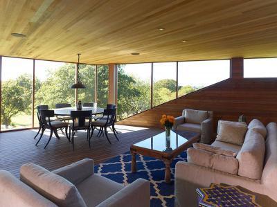 Világos nappali - nappali ötlet, modern stílusban
