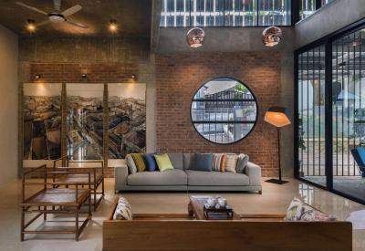 Egyedi nappali - nappali ötlet, modern stílusban