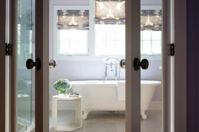 Egy leheletnyit lila - fürdő / WC ötlet, klasszikus stílusban