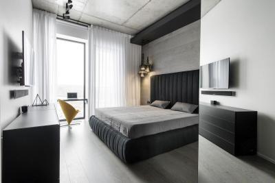 Elegáns hálószoba - háló ötlet, modern stílusban