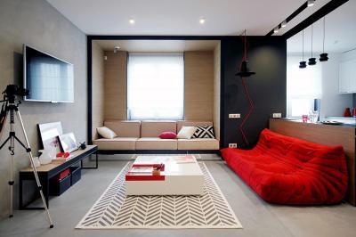 Modern francia nappali - nappali ötlet, modern stílusban