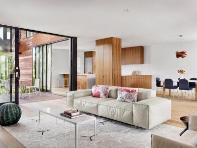 Modern és világos - nappali ötlet, modern stílusban