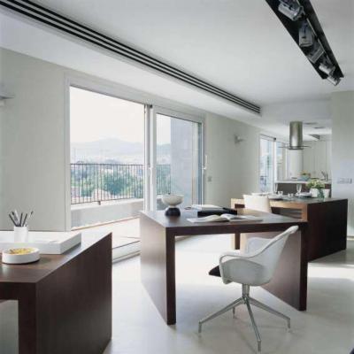 Dolgozósarok a konyhában - konyha / étkező ötlet, modern stílusban
