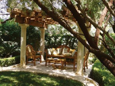 Pergola árnyékában - kert / udvar ötlet, klasszikus stílusban