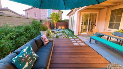 Csodás udvar - kert / udvar ötlet, modern stílusban