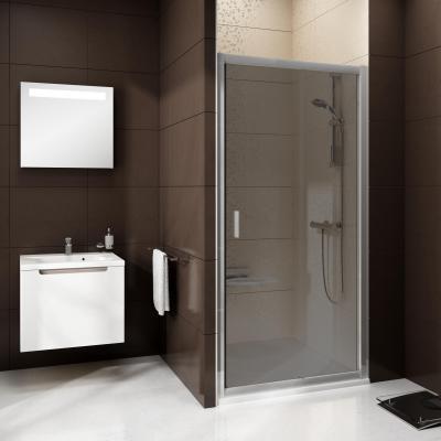 Mosdó és épített zuhanyfülke - fürdő / WC ötlet, modern stílusban