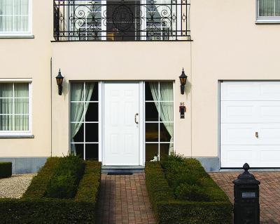 Elegáns bejárat - bejárat ötlet, klasszikus stílusban