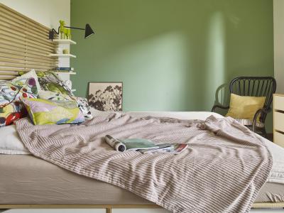 Dekoratív hálószoba - háló ötlet, modern stílusban