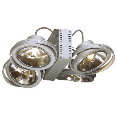 Ezüstszürke (alumínium) fali és mennyezeti lámpatest