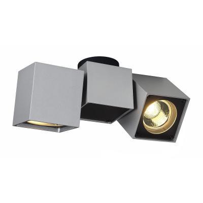 Ezüstszürke (alumínium / acél) mennyezeti lámpatest