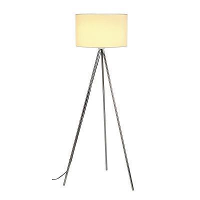 Fehér (acél) álló lámpatest - nappali ötlet, modern stílusban