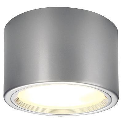Ezüstszürke (alumínium / üveg) mennyezeti lámpatest