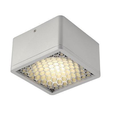Ezüstszürke (alumínium / műanyag) mennyezeti lámpatest