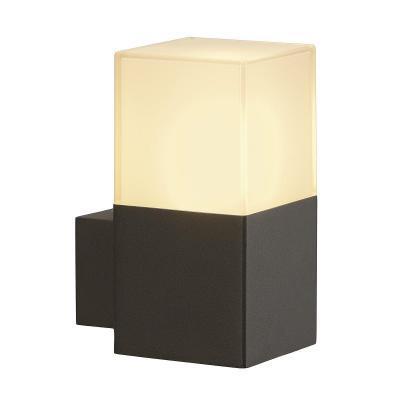 Antracit (alumínium / műanyag) fali lámpatest