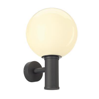 Antracit (acél / üveg) fali lámpatest