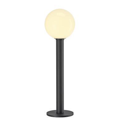 Antracit (acél / üveg) álló lámpatest