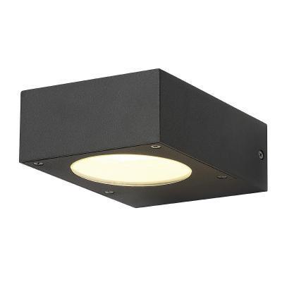 Antracit (alumínium) fali lámpatest