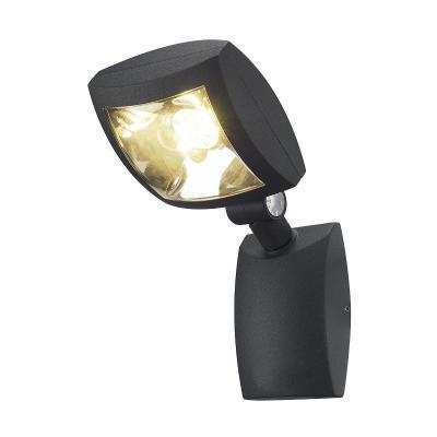 Antracit (alumínium / akril) fali lámpatest