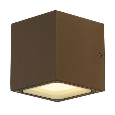 Rozsdavörös (alumínium) fali lámpatest