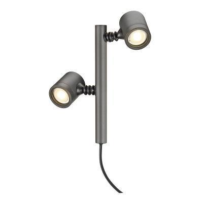 Antracit (alumínium) álló lámpatest