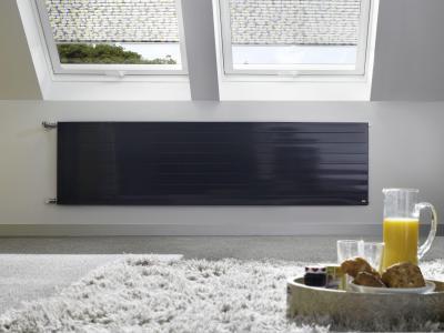 Praktikum radiátor - tetőtér ötlet, modern stílusban