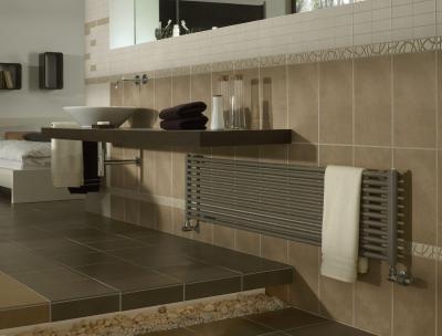 Praktikum szobai radiátor - fürdő / WC ötlet, modern stílusban