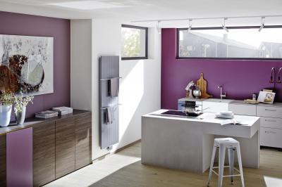 Fókusz panelradiátor - konyha / étkező ötlet, modern stílusban