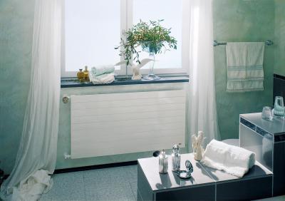 Fókusz panelradiátor - fürdő / WC ötlet, modern stílusban