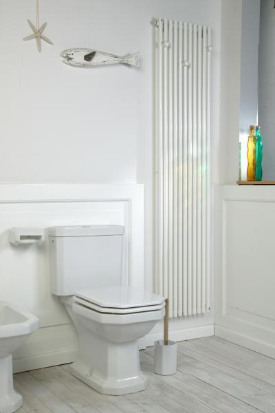 Praktikum fűtőfal - fürdő / WC ötlet, modern stílusban