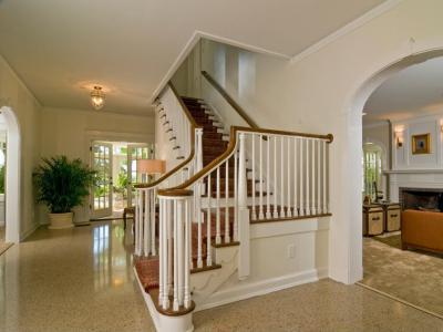 Csodás lépcső - belső továbbiak ötlet, klasszikus stílusban