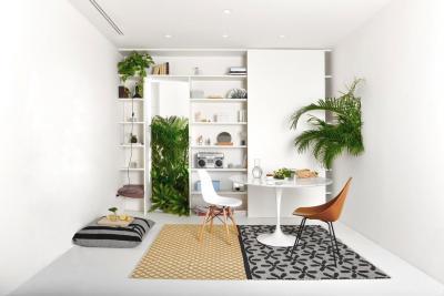 Kisméretű modern nappali - nappali ötlet, modern stílusban