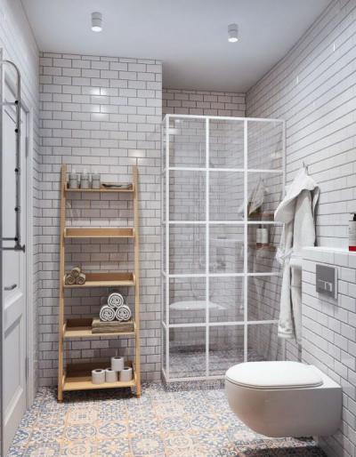 Egyszerű és egyedi fürdő2 - fürdő / WC ötlet, modern stílusban