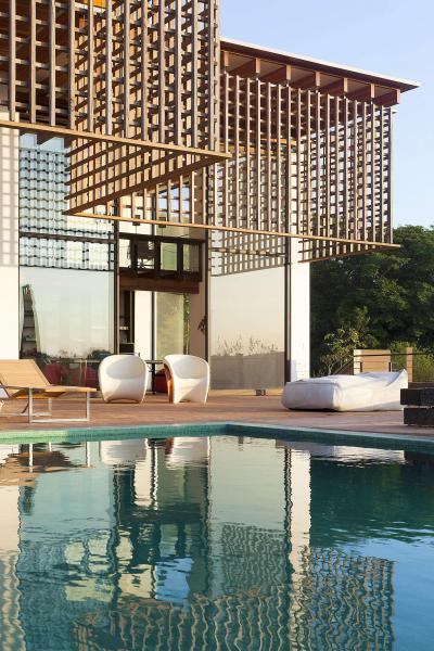 Különleges árnyékolás - erkély / terasz ötlet, modern stílusban