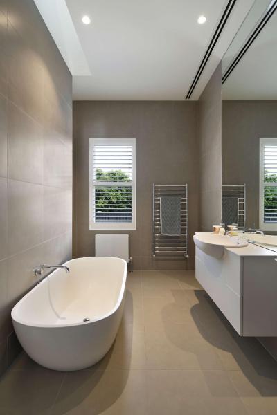 Keskeny fürdőszoba