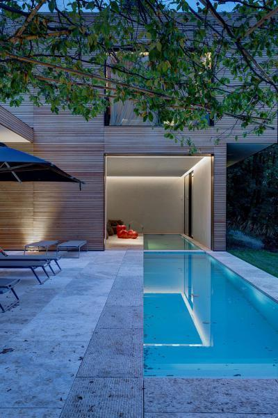 Medence a teraszon - erkély / terasz ötlet, modern stílusban