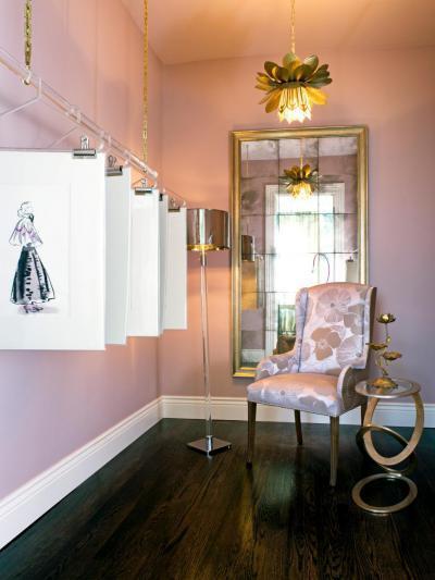 Gardrób rózsaszínben - belső továbbiak ötlet