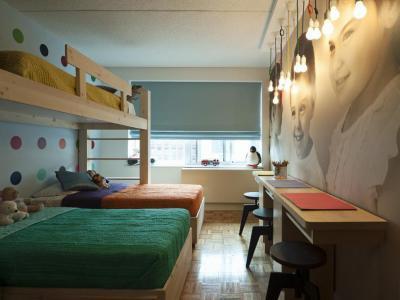 Három fős szoba - gyerekszoba ötlet, modern stílusban