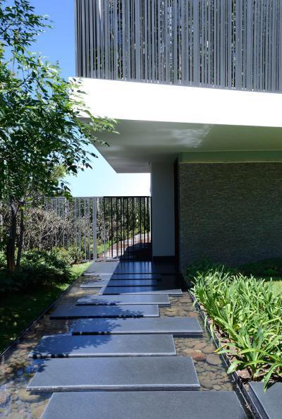 Kerti út a víz fölött - kert / udvar ötlet, modern stílusban