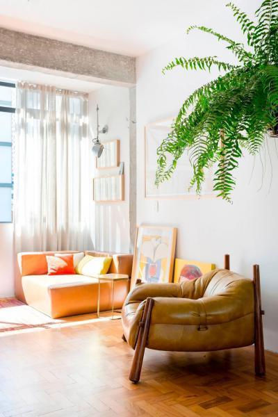 Pihenősarok - nappali ötlet, modern stílusban