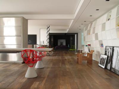 Extravagáns belső tér - nappali ötlet, modern stílusban