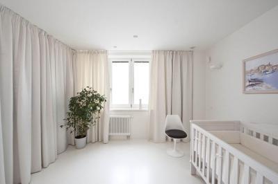 Babaszoba fehérben - gyerekszoba ötlet, modern stílusban